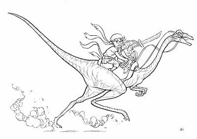 http://neillcameron.bigcartel.com/product/original-art-dinosaur-rider-comission