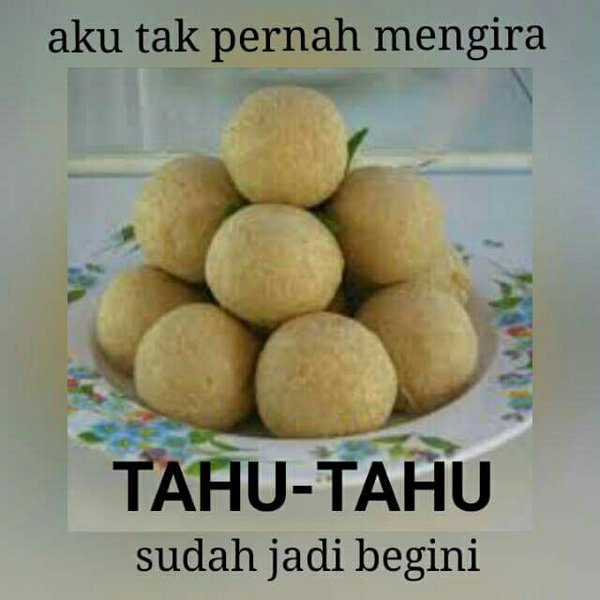 Meme Soal Tahu