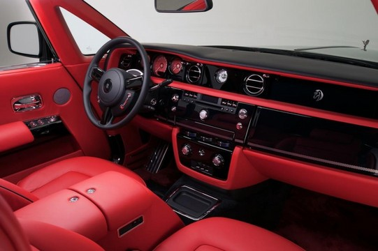 rolls royce ghost interior and exterior