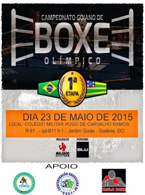 CAMPEONATO GOIANO DE BOXE OLÍMPICO 2015