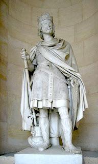 مجسمه شارل مارتل در کاخ ورسای پاریس