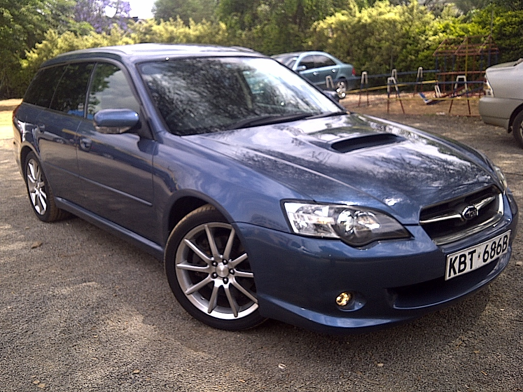 nairobimail subaru legacy st w gt b spec 2005 blue. Black Bedroom Furniture Sets. Home Design Ideas