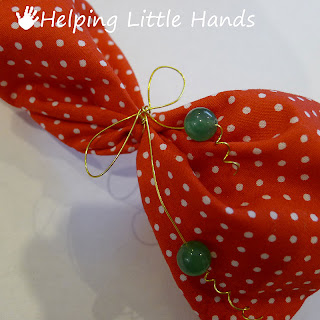 Pieces By Polly Wire And Bead Bows And Ties Gift Wrap