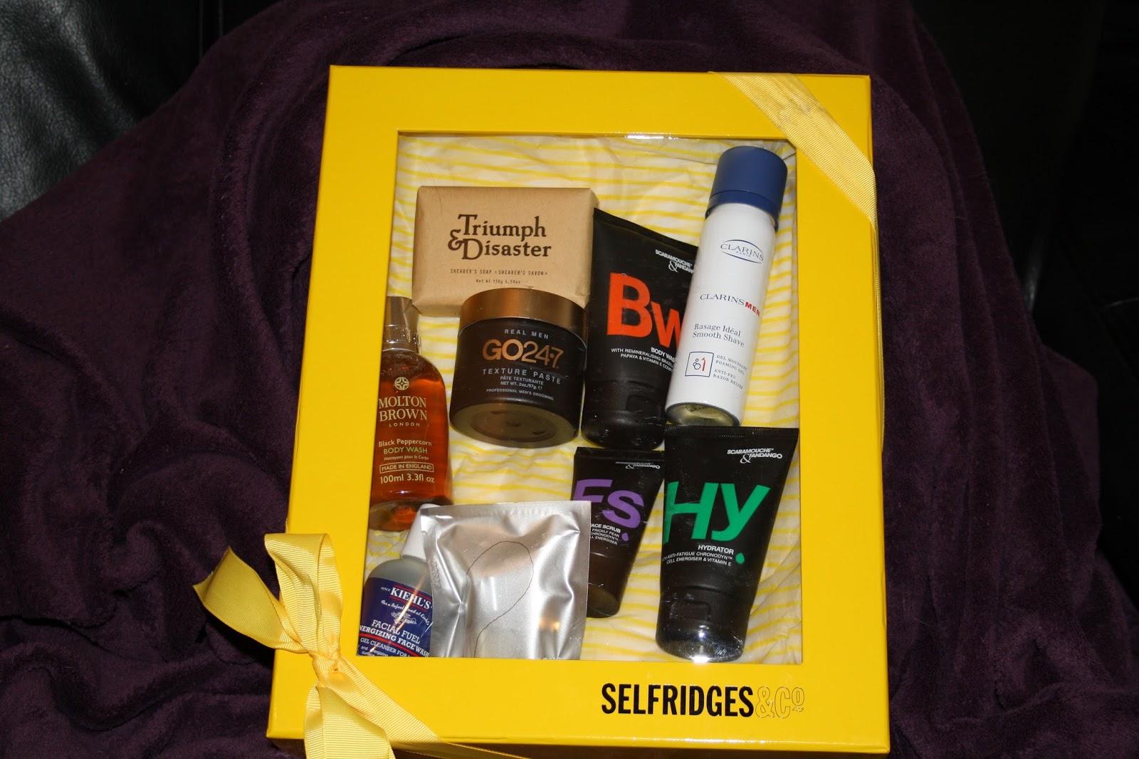 Selfridges&Co Male Grooming Box