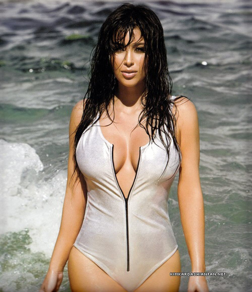 Kim Kardashian Latest Hot Photo