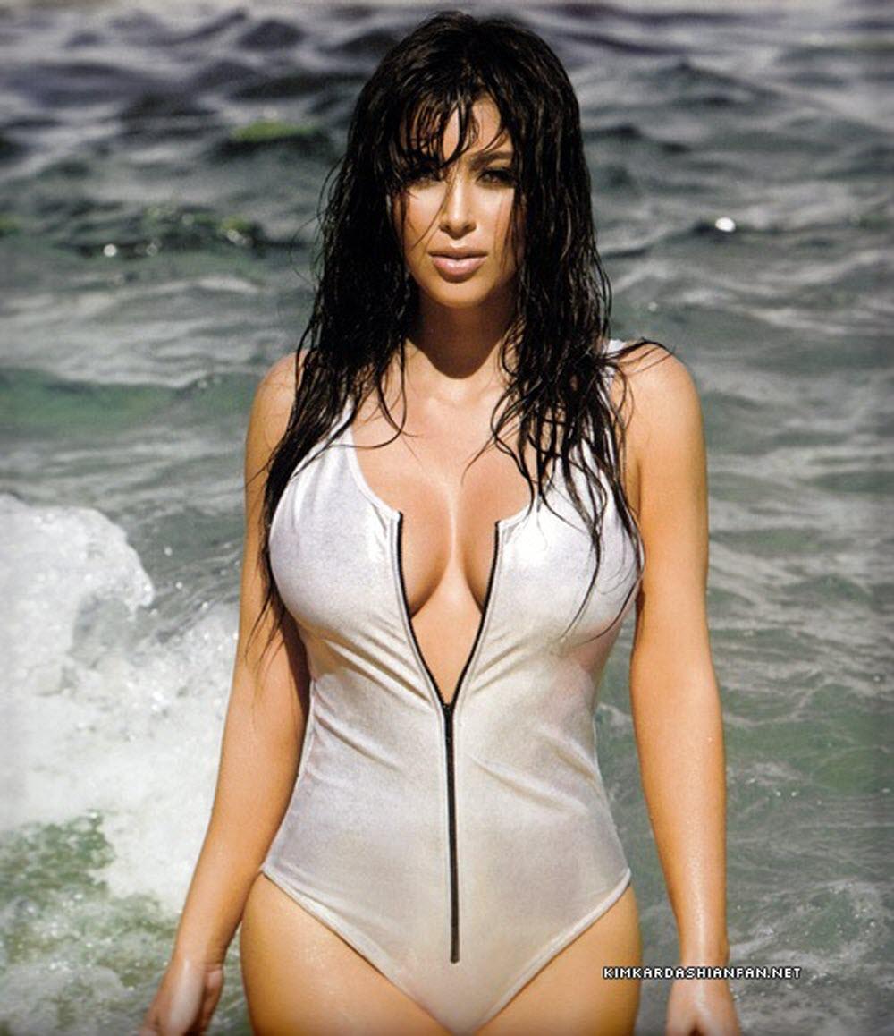 Kim Kardashian Latest Hot Photo
