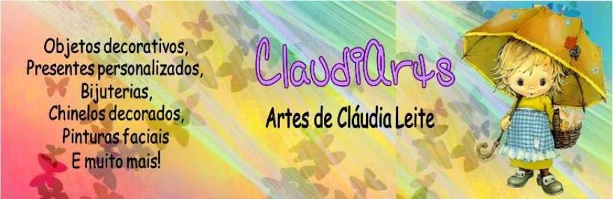 ClaudiArts - Artes de Cláudia Leite