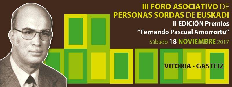Foro Asociativo de Personas Sordas de Euskadi