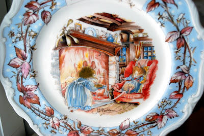 Brambly Hedge plate