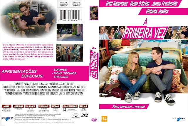 Capa DVD A Primeira Vez