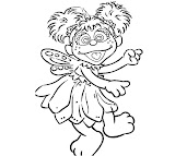 #2 Abby Cadabby Coloring Page