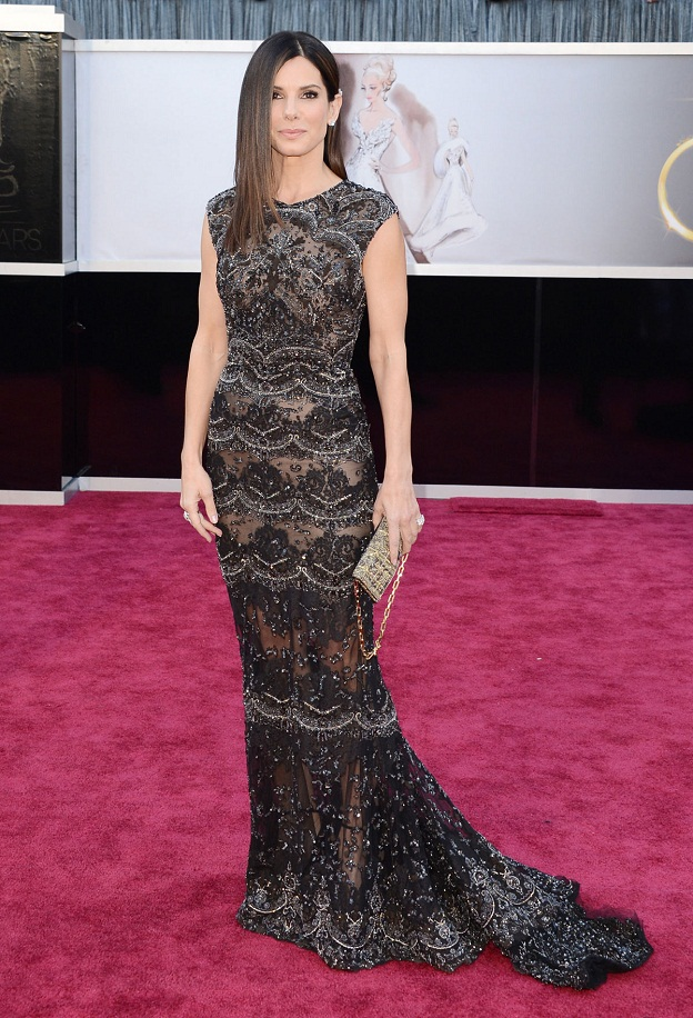 Sandra Bullock - Celebrity Fashion at the 2013 Oscars