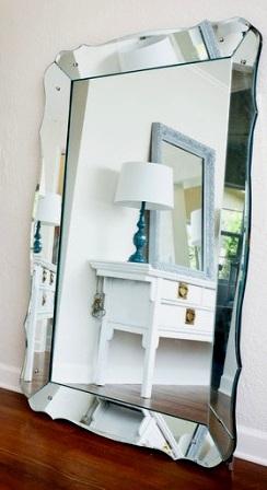 El mundo en femenino espejos en todos lados - Espejos antiguos grandes ...