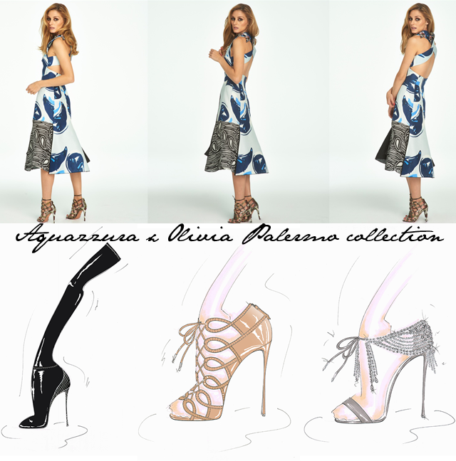Aquazzura Olivia Palermo Collection