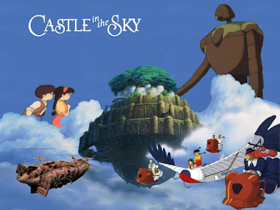 anime castle in the sky studio gibli