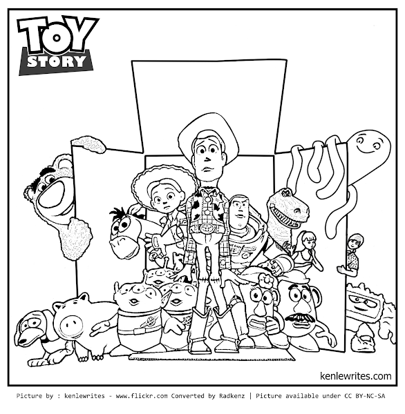 toy story 1 coloring pages - photo#12