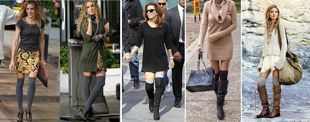 How to Wear Knee High Socks for Fall