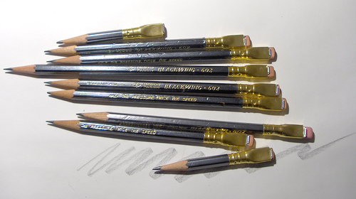 warburtonlabs blackwing pencils