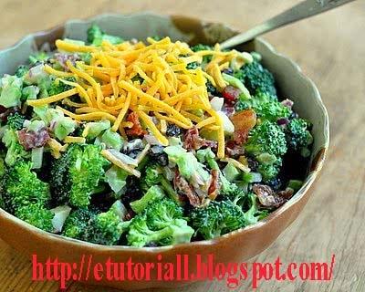 Resep Salad Brokoli Kismis