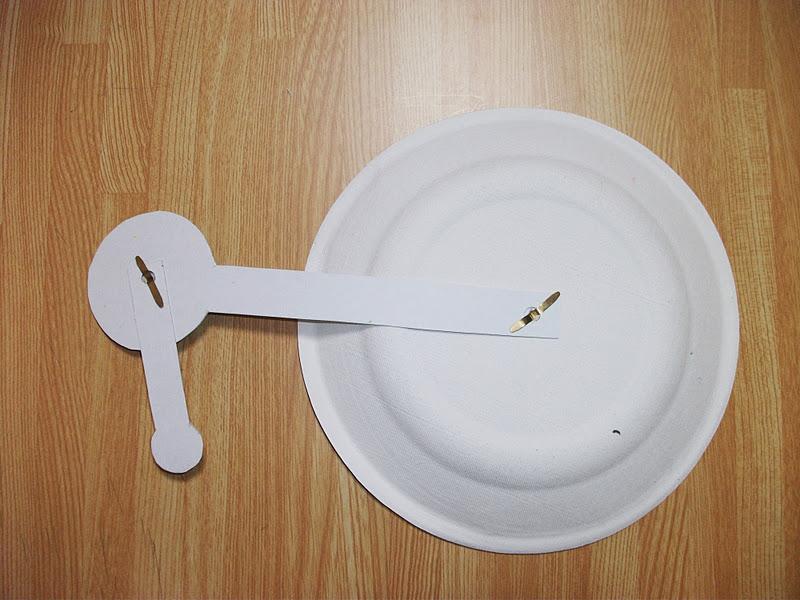 Как сделать модель луны из бумаги