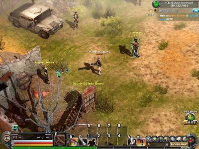 Metal Reaper Online - Mission NPC