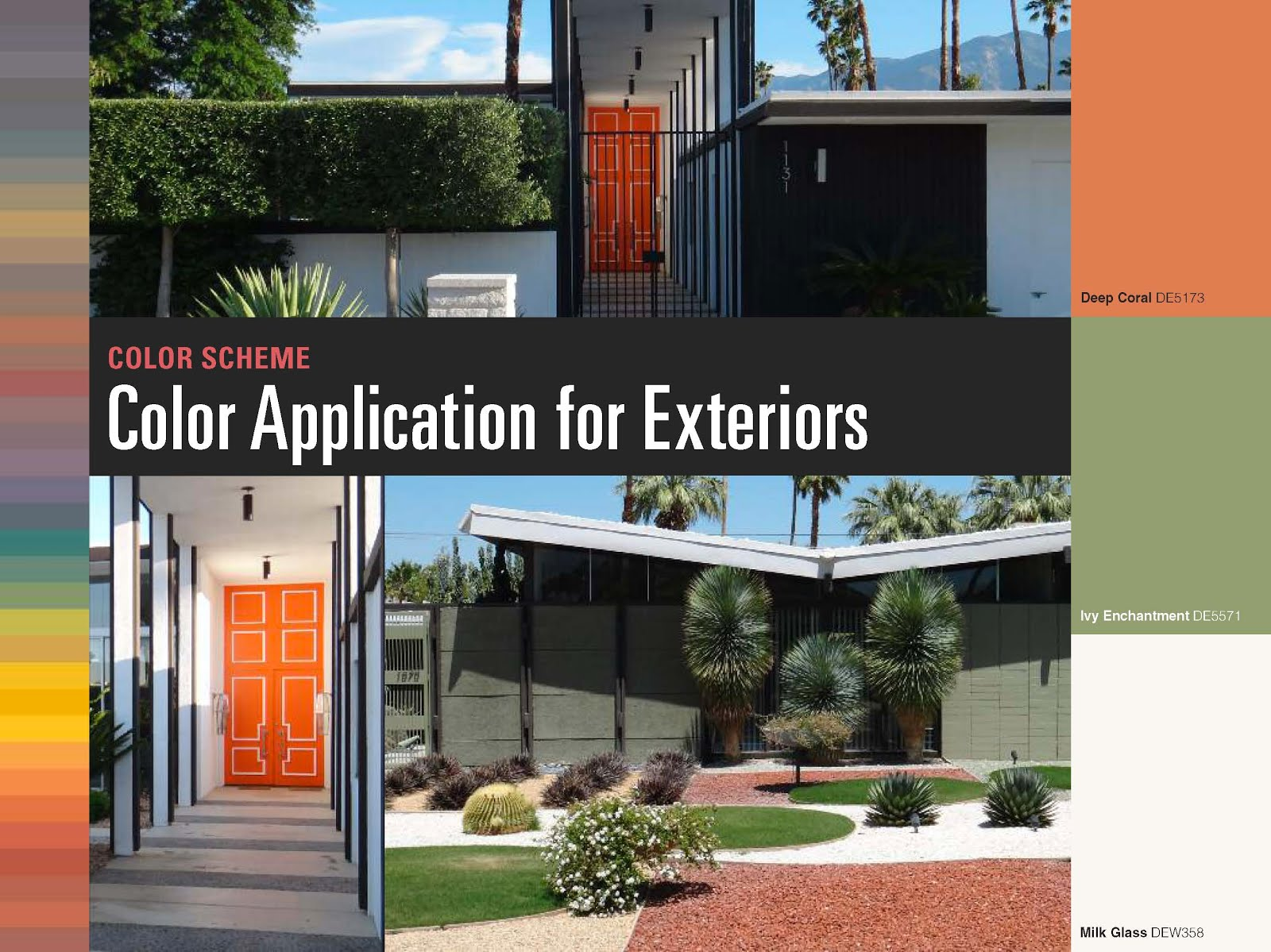 Mad for mid century mid century modern color palette trends for Modern colours for exterior house