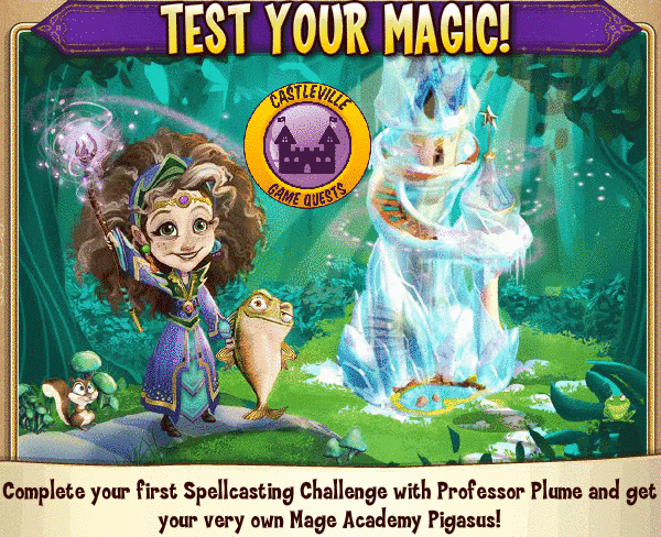 Castleville Mage Academy Spellcasting Quests