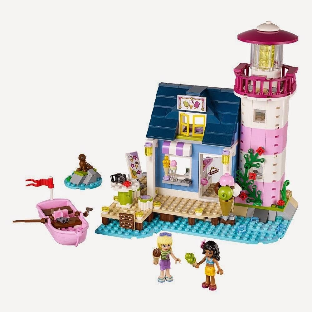 JUGUETES - LEGO Friends  41094 El Faro de Heartlake  Producto Oficial 2015 | Piezas: 473 | Edad: 6-12 años