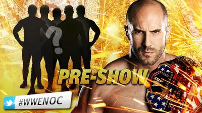 el super pre show en el que solo uno podra disputar el cinturon de la WWE
