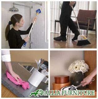 Tahapan membersihkan rumah anda