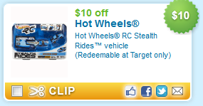$10 off Hot Wheels RC Stealth Rides vehicle