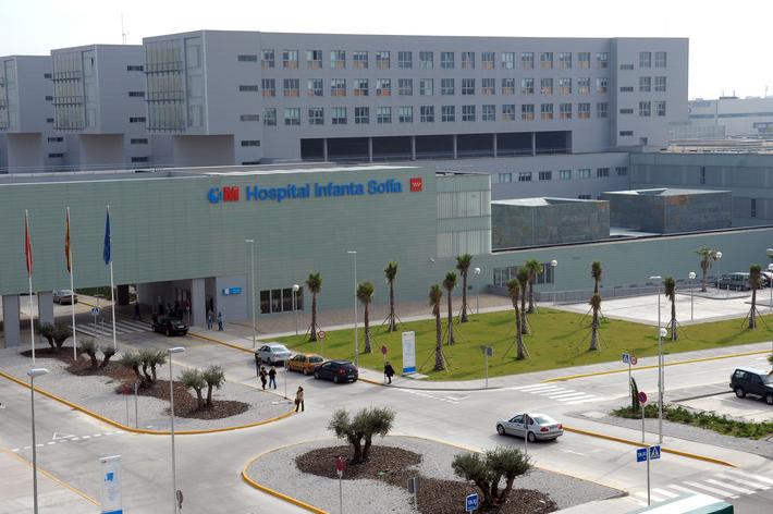 Hospital Universitario Infanta Sofía. Situado en San Sebastián de los Reyes (MADRID).