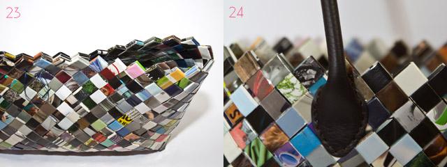 taschen selber machen aus zeitschriften diy blog von anastasia. Black Bedroom Furniture Sets. Home Design Ideas