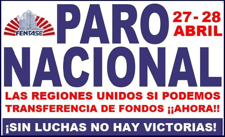 ¡VIVA EL PARO NACIONAL!