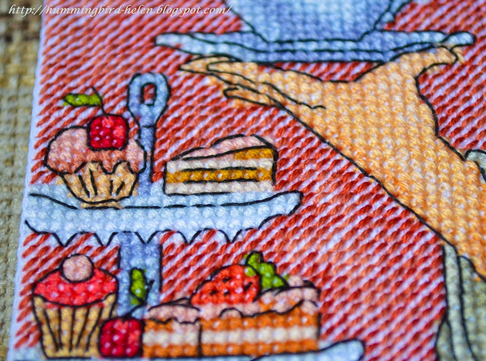 схема вышивки поваренка