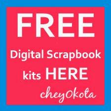 my FREE Digital Scrapbook Kits