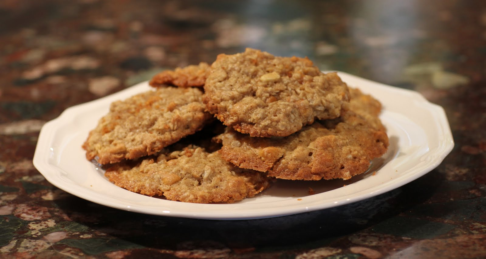 For the Love of Food: Apple Butterscotch Oatmeal Cookies