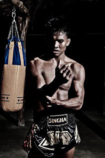 Buakaw training