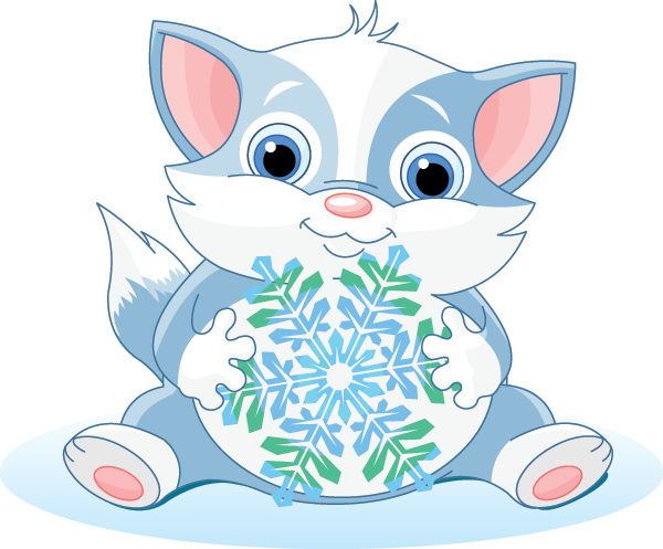 Snowflake Kitty