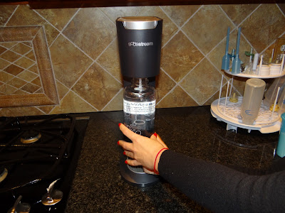 Sodastream Review and Giveaway!! Do you love soda or seltzer/flavored seltzer?