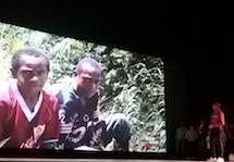 Matteo Gatto, una gita... in bicicletta in Papua nuova Guinea