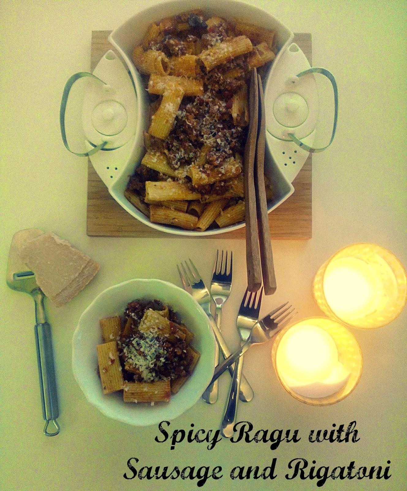 Rigatoni With Sausage Ragu Recipes — Dishmaps