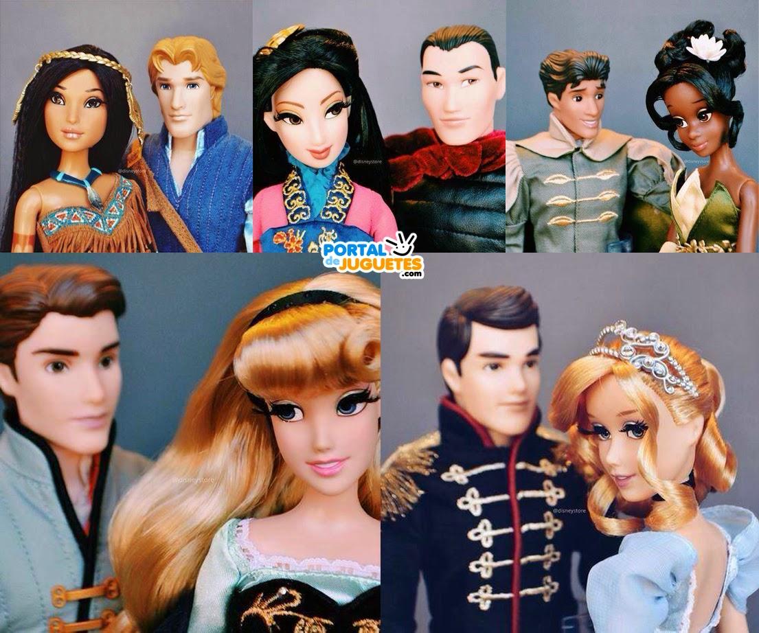 Muñecas Disney Fairytale Designer Couples Segunda Edicion detalle