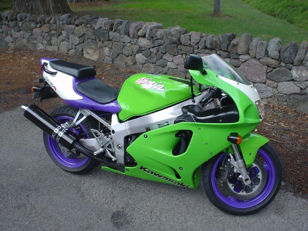 Kawasaki Zxr Bobber