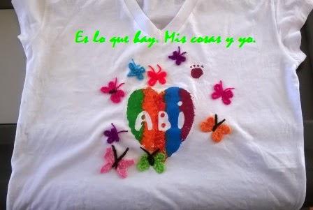 Mariposas camiseta verano