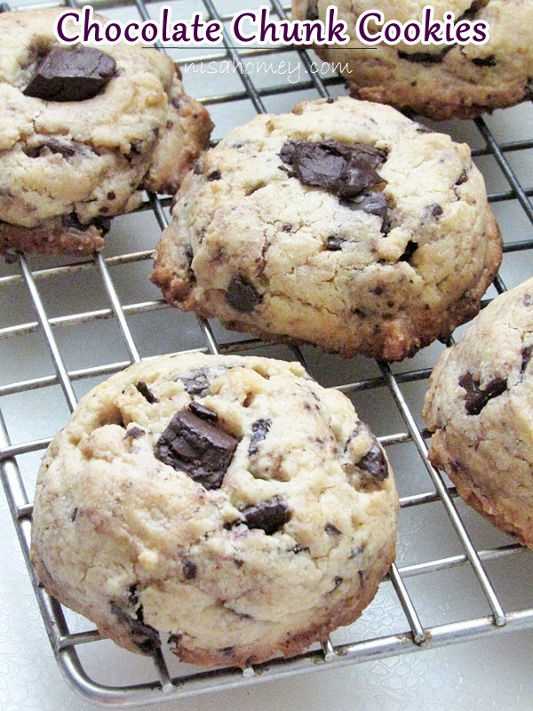 ... are the yummiest chocolate chunk cookies not chocolate chips cookies i
