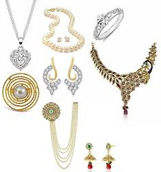 Precious & Fashion Jewellery: Upto 50% Off+ Extra Upto 30% Off (Multiple Offers)@ Amazon