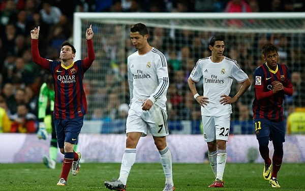 Match complet Replay Real Madrid 0-2 Barcelona Lionel el classico 23.12.2017 HD