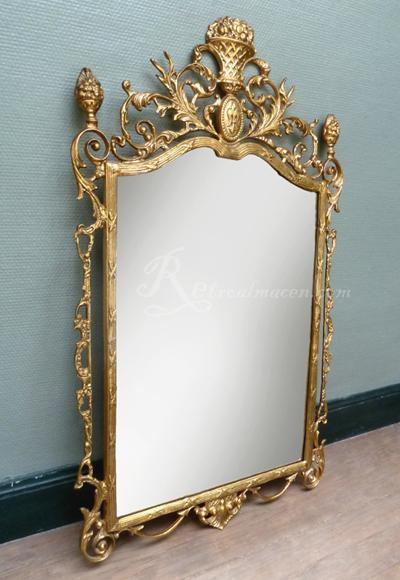 Espejos De Decoracion Antiguos ~   de sal?n franc?s estilo LouisXVI de espejo antiguo y consola con