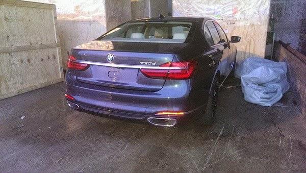 новый BMW 7-й серии